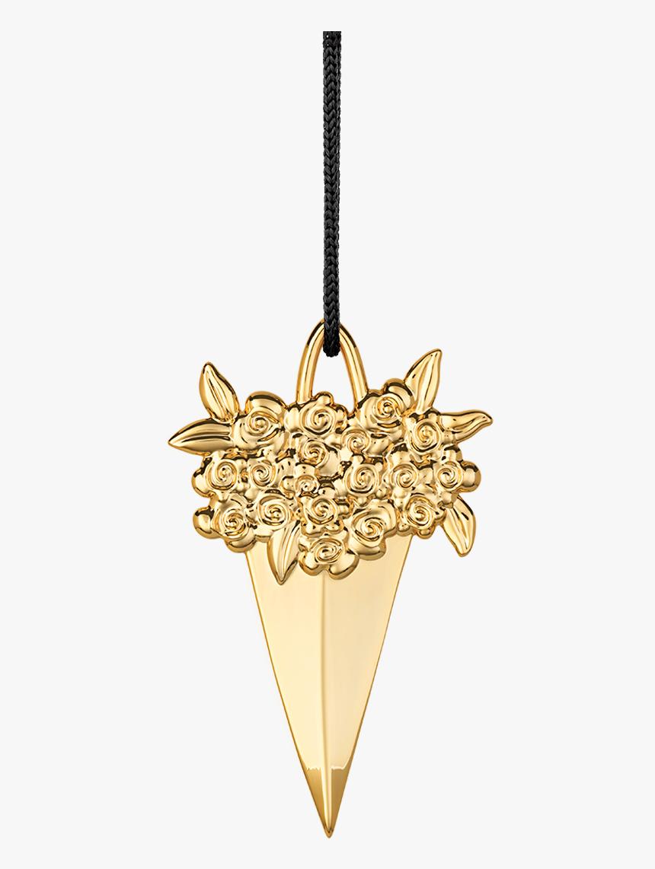 Paper Cone H8 5 Gold Plated Karen Blixen - Kræmmerhus H8 5 Forgyldt T Ophæng, HD Png Download, Free Download