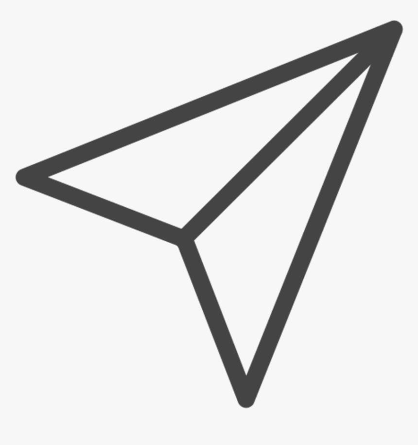 Instagram Paper Plane Icon, HD Png Download, Free Download