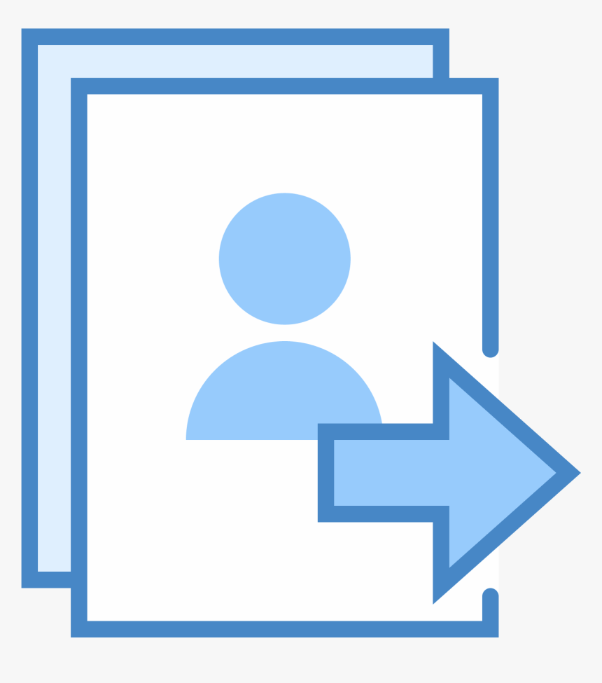 Send Hot List Icon - List Vector Blue Transparent, HD Png Download, Free Download