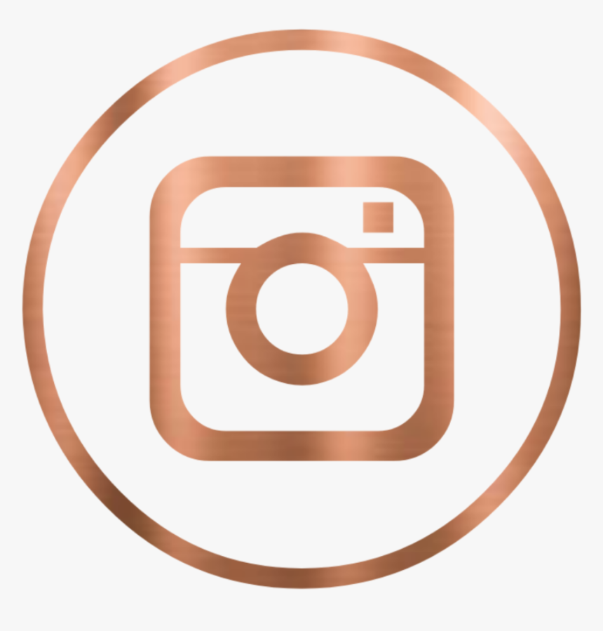 Instagram Instagramlogo Logo Logo Instagramhighlightcover Rose Gold Instagram Logo Hd Png Download Kindpng
