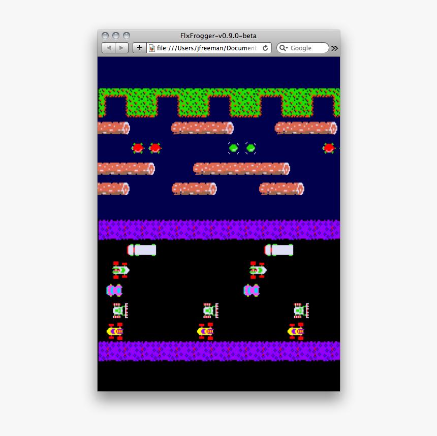 Transparent Sans Sprite Png - Frogger Game, Png Download, Free Download