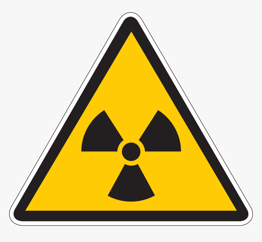 Radiation Warning Sign, HD Png Download, Free Download