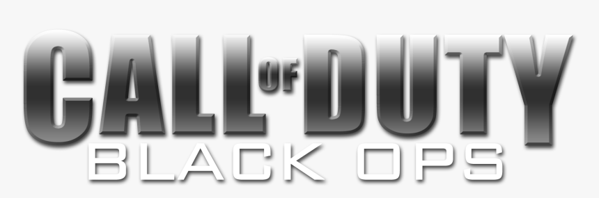 Call Of Duty Black Ops 1 Logo Png Png Download Call Of Duty