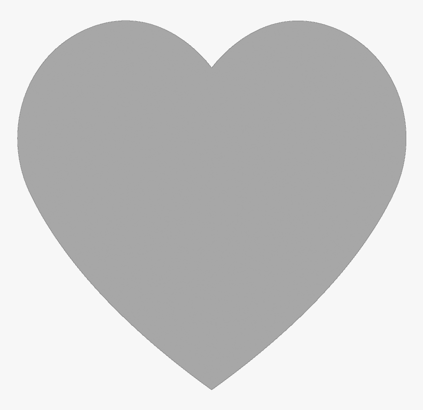 Grey Heart Clipart, HD Png Download, Free Download