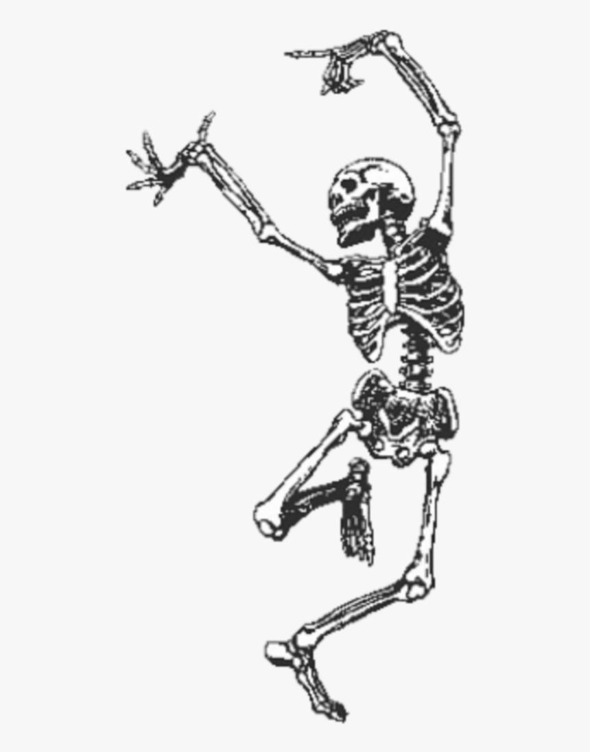 #freetoedit #dancing #skeleton - Dancing Skeleton With Top Hat, HD Png Download, Free Download