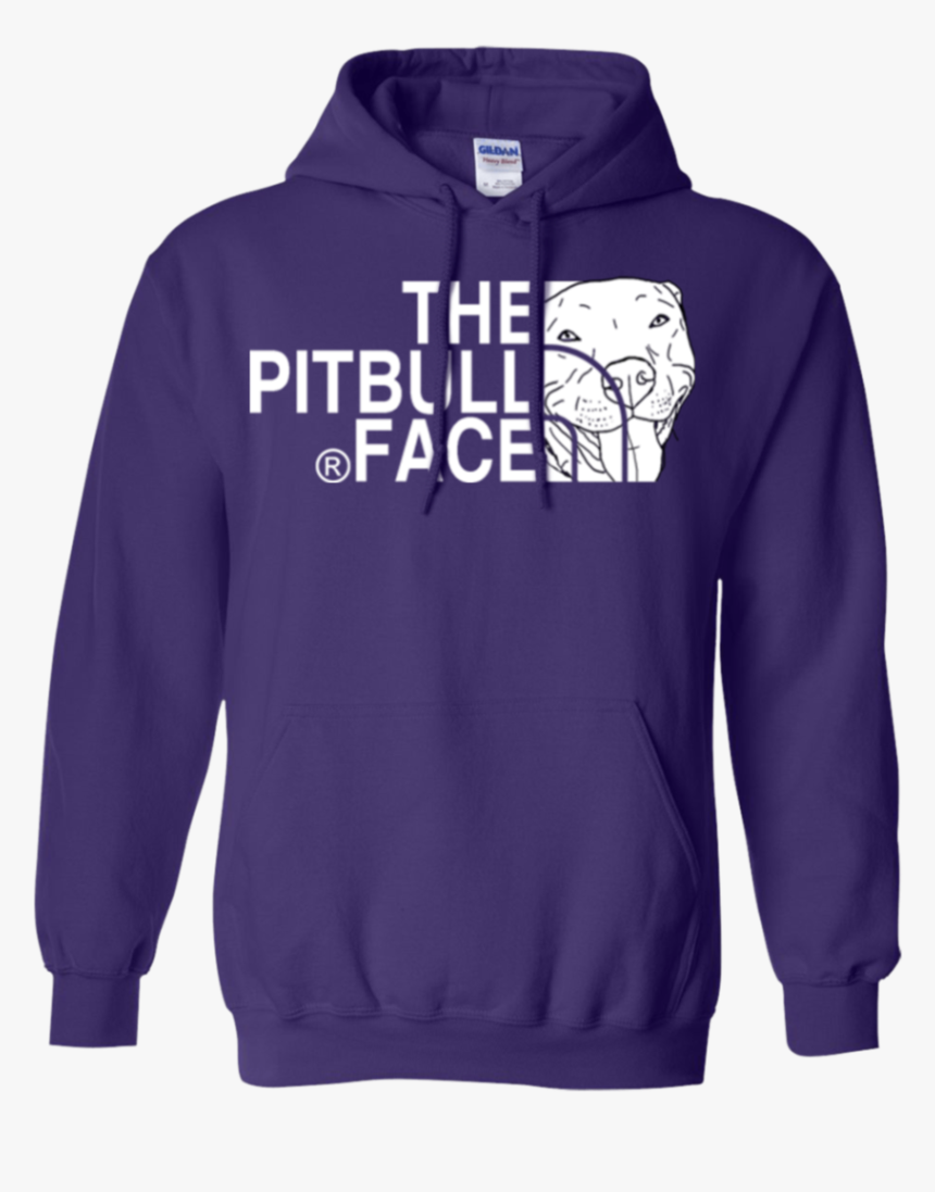 The Pitbull Face Hoodie - Hoodie, HD Png Download, Free Download