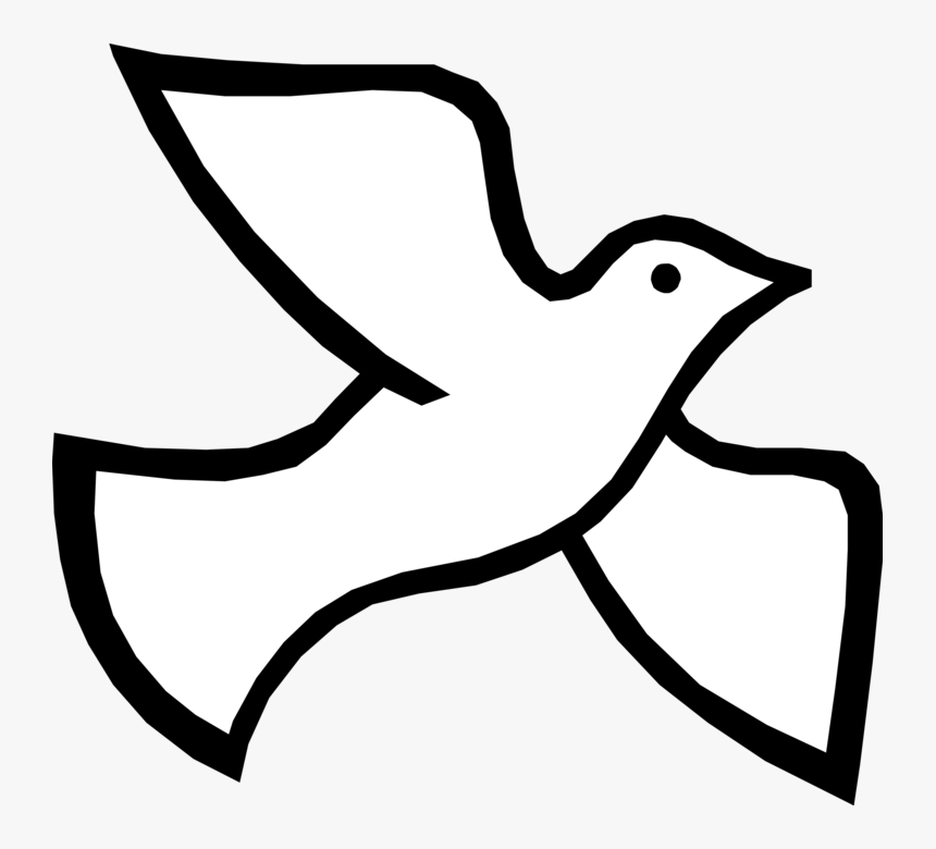Christian Vector Dove - Holy Spirit Dove, HD Png Download, Free Download