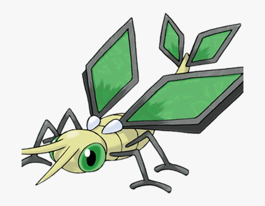 Pokemon With Green Wings, HD Png Download, Free Download