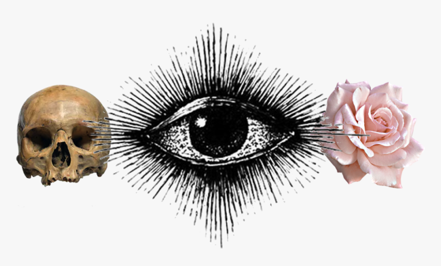 Dead - Eye - Rose - Eye Of Providence Aesthetic, HD Png Download, Free Download