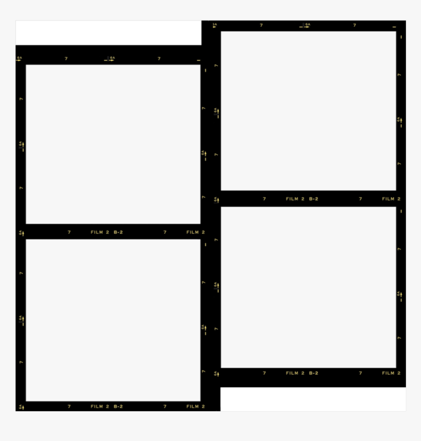 #polaroid #film #kodakfilm #kodak #template #frame - Transparent Kodak Film Template, HD Png Download, Free Download