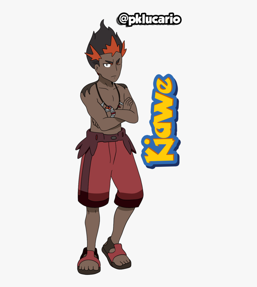 Pokemon Sun And Moon Kiawe, HD Png Download, Free Download