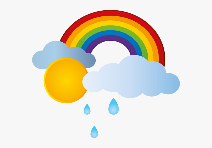 Sun Rainbow Clipart Free Graphic Black And White Arc Desenhos