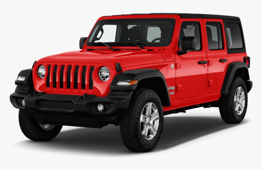 2019 Jeep Wrangler Red 4 Door, HD Png Download, Free Download