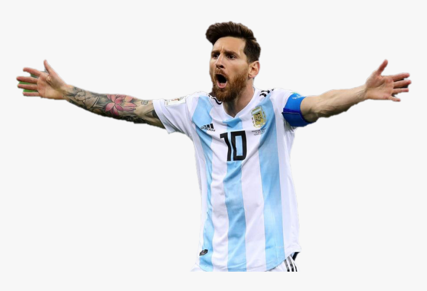 Footballer Lionel Messi Transparent Images - Football Player, HD Png Download, Free Download