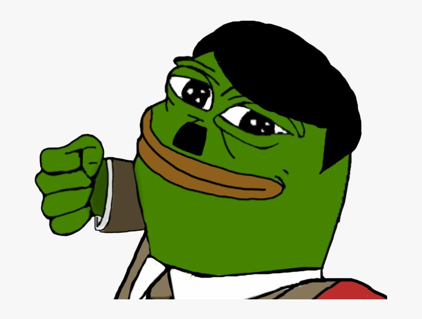 Sad Pepe The Frog Meme Png Transparent Image - Pepe The Frog As Hitler, Png Download, Free Download