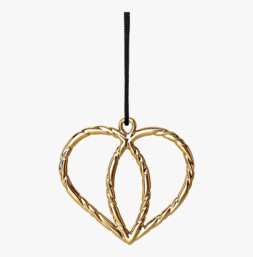 Heart Crown H7 Gold Plated Karen Blixen - Rosendahl Karen Blixen Smørblomst & Hjertekrone, HD Png Download, Free Download