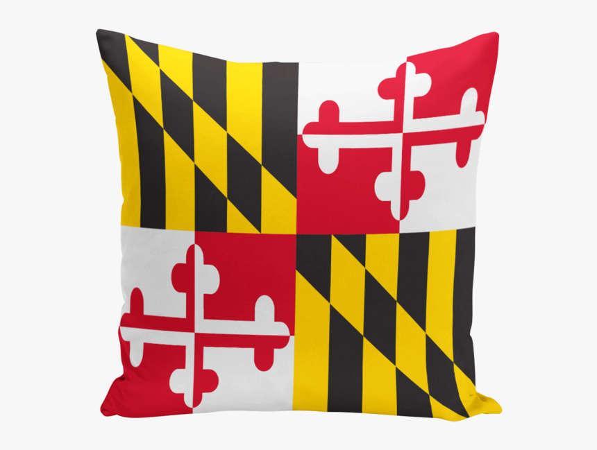 Maryland Flag Line Art, HD Png Download, Free Download