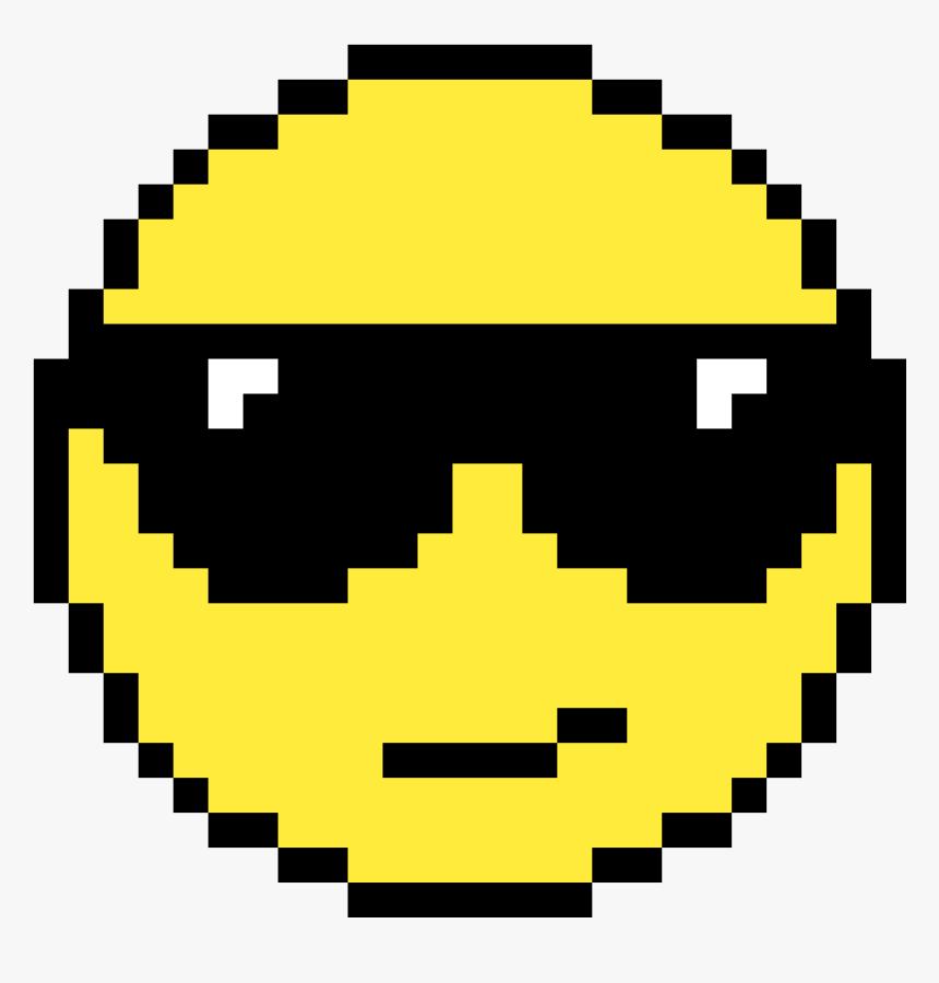 Koro Sensei Pixel Art , Png Download - Simple Pixel Art Pac Man, Transparent Png, Free Download