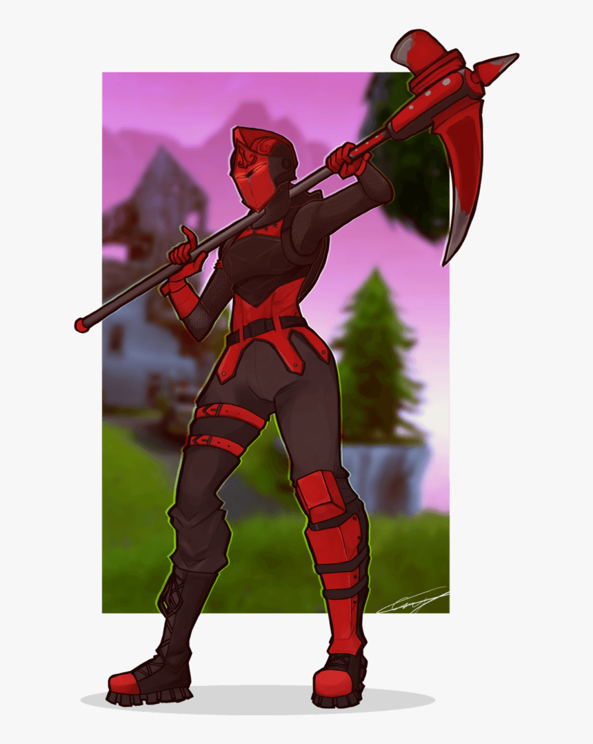 Red Knight Fortnite Wallpapers Dark Red Knight Fortnite Png Transparent Png Download Kindpng