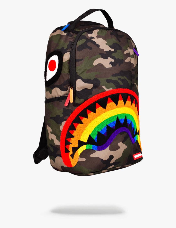 Naruto Shirts Roblox Sprayground Chenille Rainbow Shark Hd Png