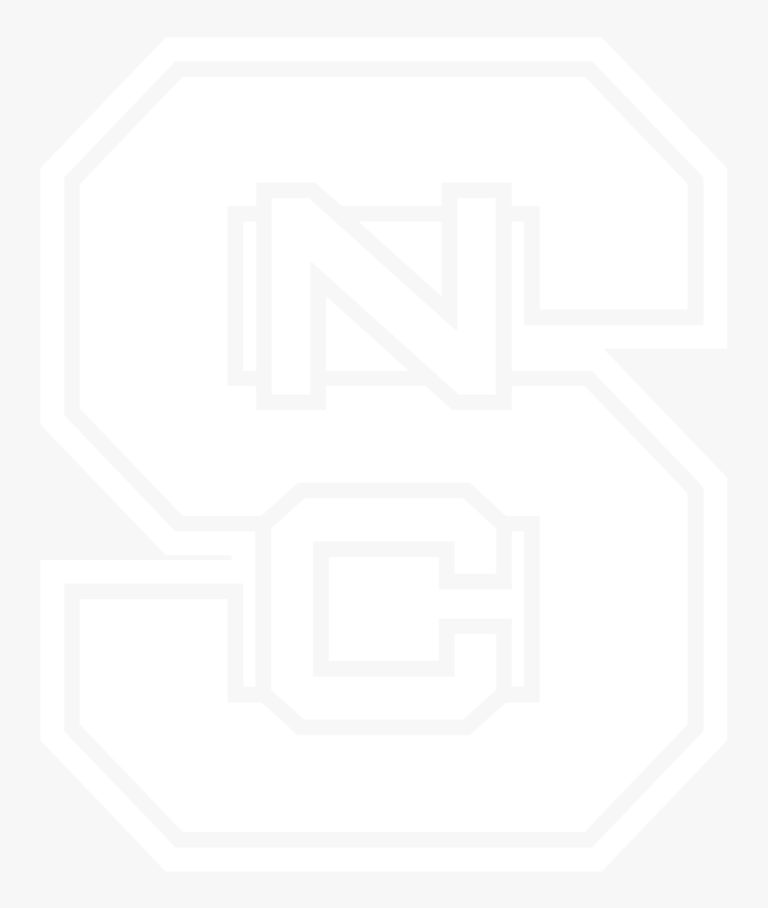 Nc State Block S Black And White, HD Png Download, Free Download