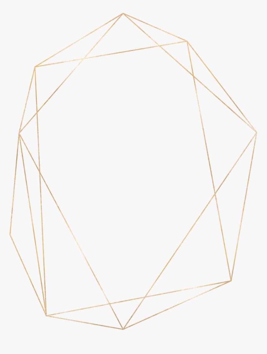 #gold #frame #border #border #modern - Gold Modern Frame Png, Transparent Png, Free Download