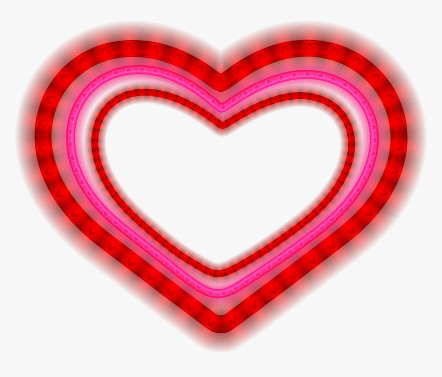 Shining Png , Png Download - Valentine Frame Heart Png Transparent, Png Download, Free Download
