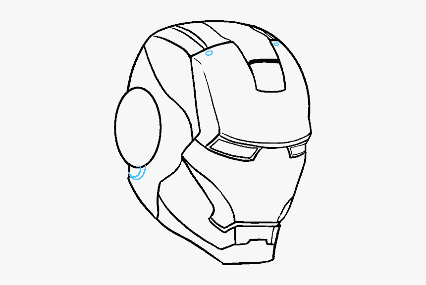 Iron Man Simple Drawing, HD Png Download, Free Download