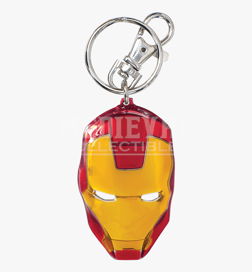 Colored Iron Man Mask Keychain - Брелок Каратель, HD Png Download, Free Download