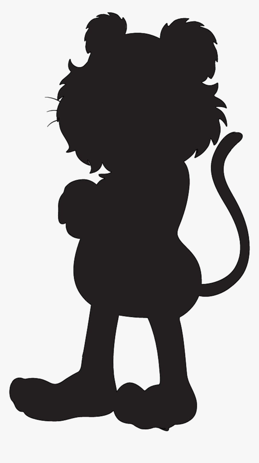 Silhouette Tiger Illustration Vector Graphics Drawing Drawing Hd Png Download Kindpng