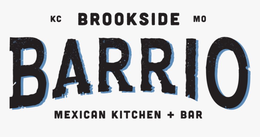 Barrio Logos Brookside Black 8april19 - Graphics, HD Png Download, Free Download