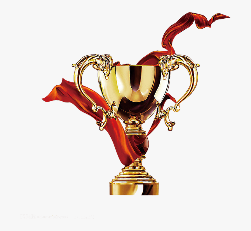 Transparent World Cup 2018 Trophy Clipart - Trophy With Ribbon Png, Png Download, Free Download