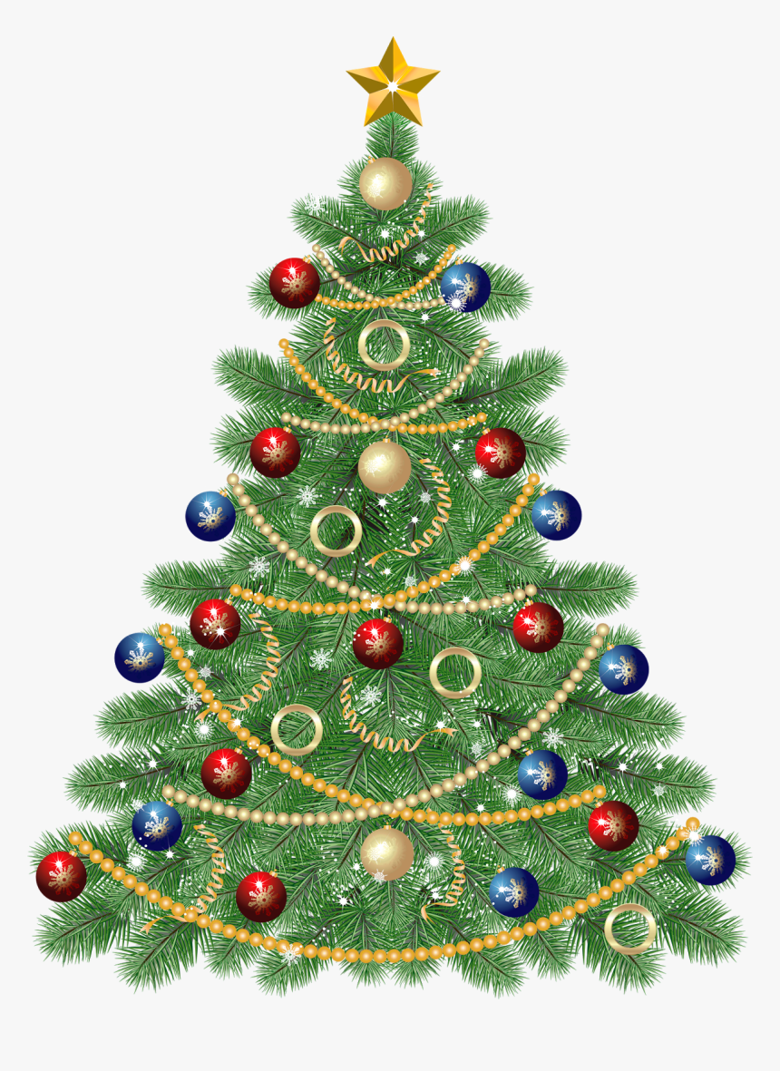Large Transparent Christmas Tree With