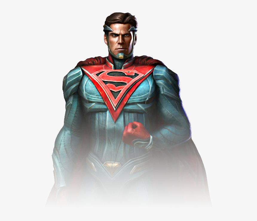 Supermanrenderi2 - Injustice 2 Superman Injustice Gods Among Us, HD Png Download, Free Download