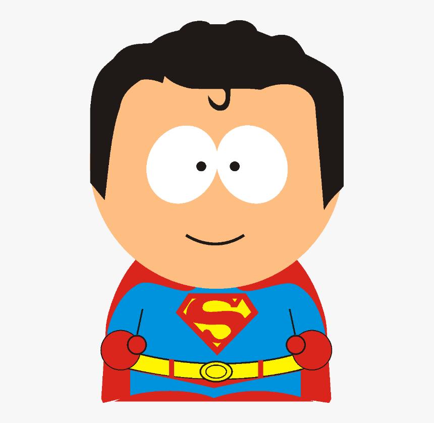 South Park Superman - South Park Super Heroes Png, Transparent Png, Free Download