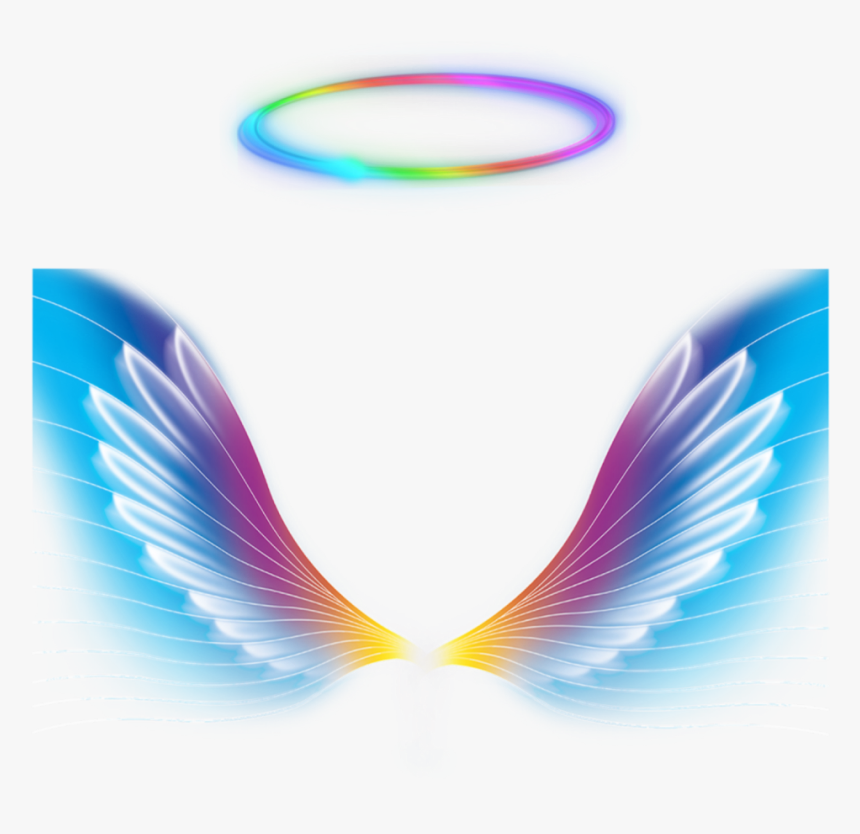 Transparent Angel Wings Clipart Colorful Angel Wings Hd Png Download Kindpng