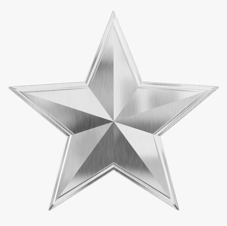Silver Star Png Image - Silver Star Png, Transparent Png, Free Download