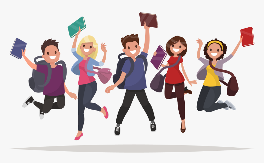 Free Download Student School Students Png Cartoon Transparent Png Kindpng