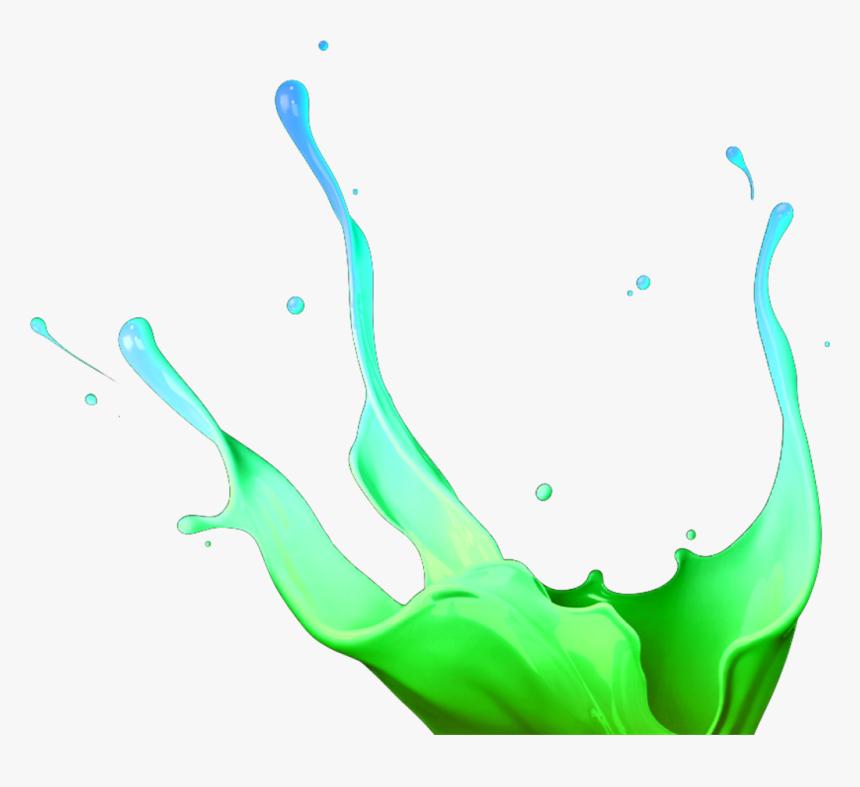 3d Paint Splash Png Clipart , Png Download - Yellow Paint Splash Png Hd, Transparent Png, Free Download