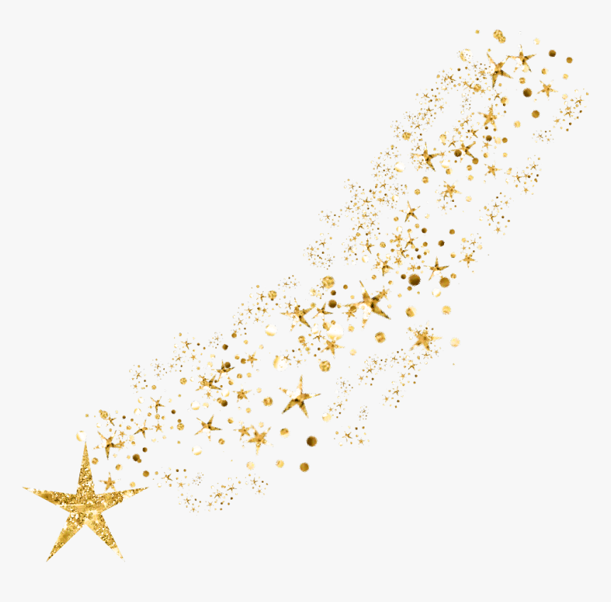 Transparent Gold Star Png - Glitter Gold Star Png, Png Download, Free Download