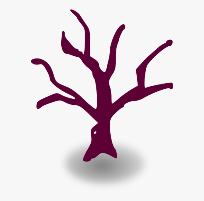 Dead Tree Cartoon Vector Clip Art - Cherry Blossom Family Tree, HD Png Download, Free Download