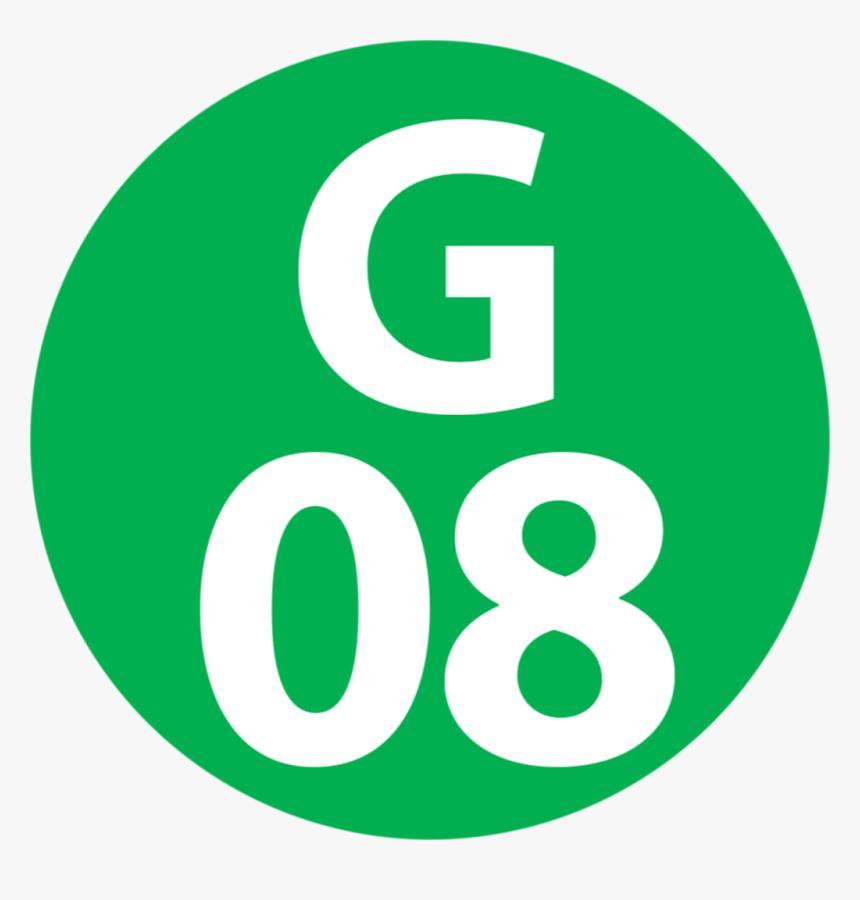 G-08 Station Number - Circle, HD Png Download, Free Download