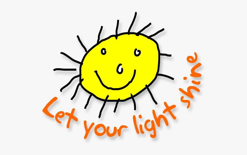People Letting Light Shine Clipart & Clip Art Images - Letting Your Light Shine Png, Transparent Png, Free Download
