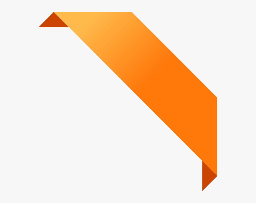 Image Black And White Banner Encode Clipart To Base - Orange Ribbon Banner Png, Transparent Png, Free Download