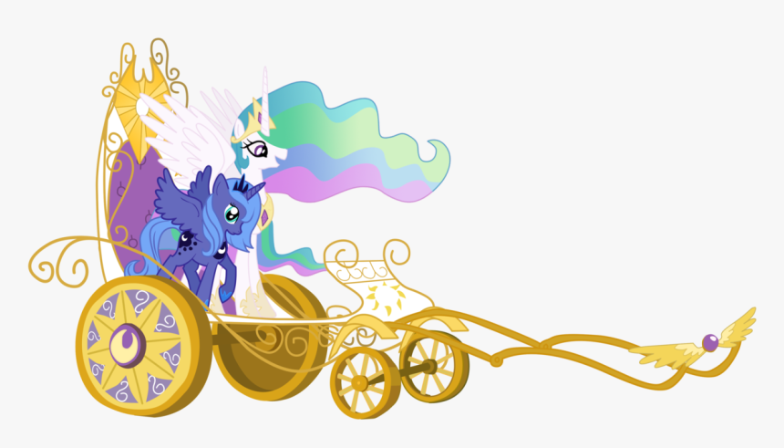 Jaelachan, Chariot, Filly, Princess Celestia, Princess - Friendship Is Magic Princess Celestia, HD Png Download, Free Download