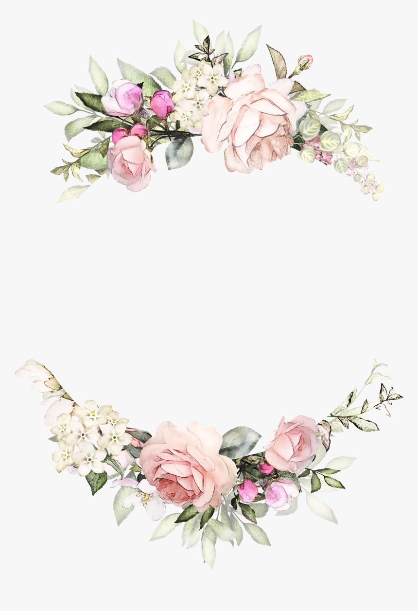 Clip Art Wedding Invitation Floral Design Flower Background For Invitation Hd Png Download Kindpng