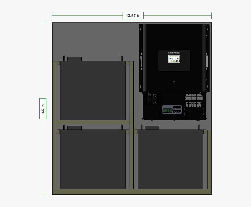 Home Energy Storage Battery Interior - Architecture, HD Png Download, Free Download