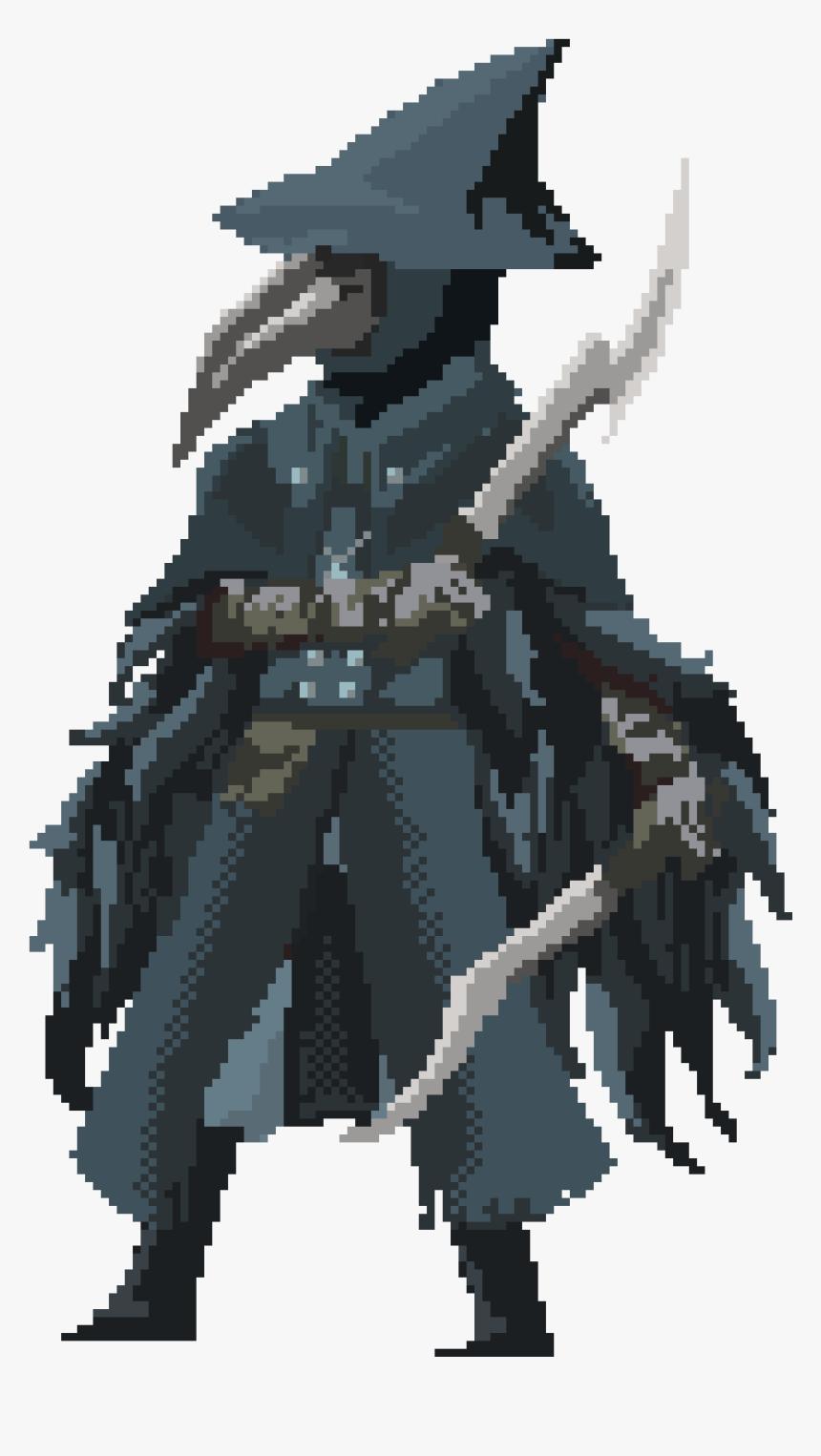Bloodborne Pixel Art, HD Png Download, Free Download