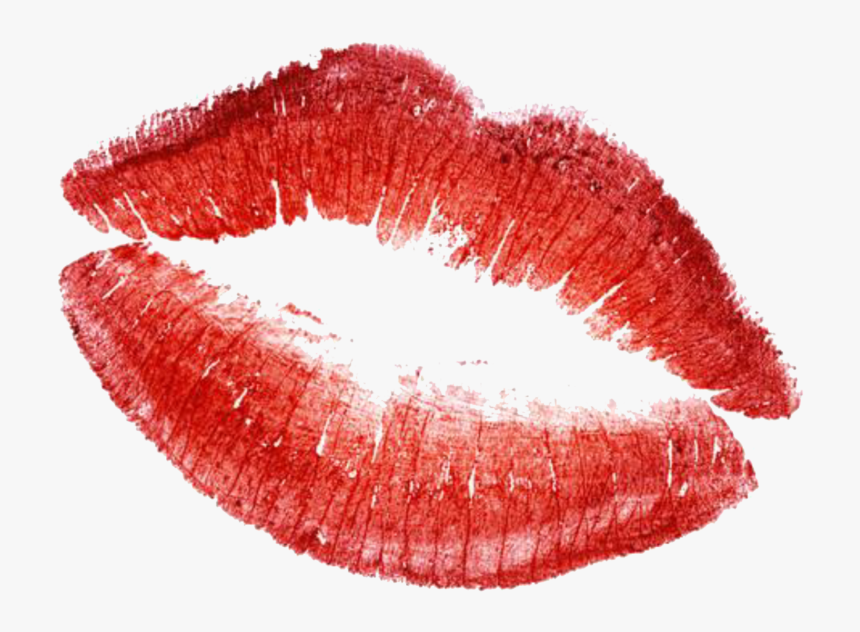 Pin Lips Clipart Kiss Mark - Kiss Mark Transparent Background, HD Png Download, Free Download