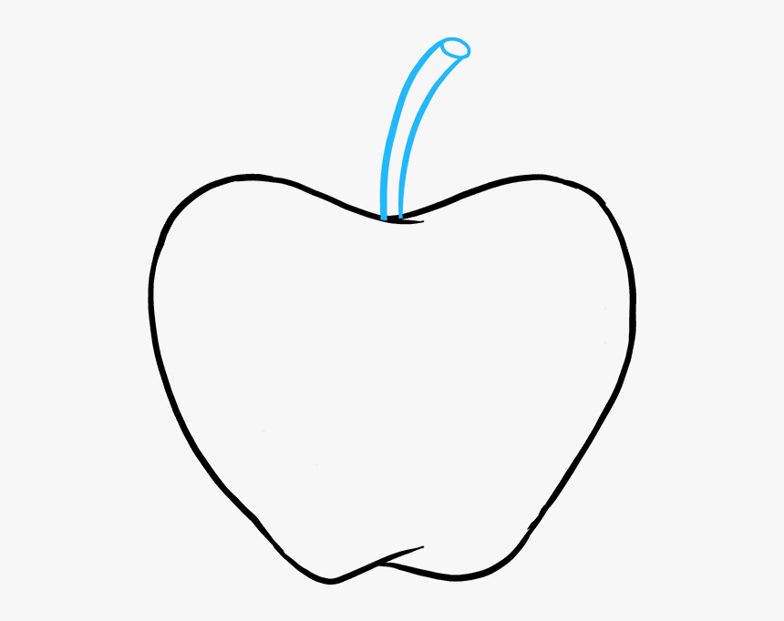 How To Draw Apple Apple Images For Drawing Hd Png Download Kindpng